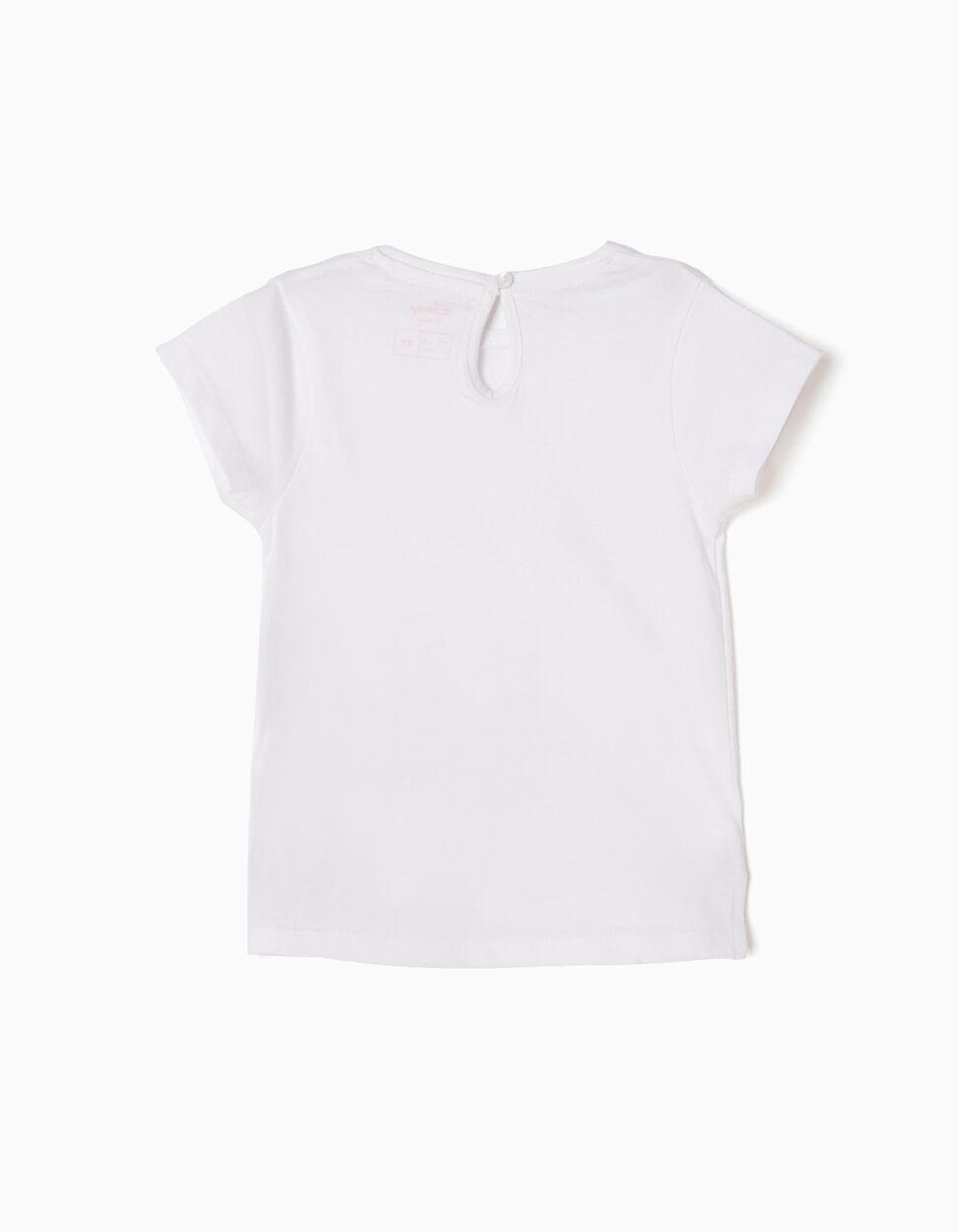 T-shirt Minnie Branca