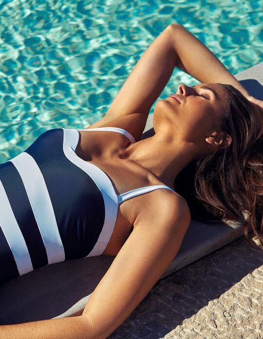 Striped Swimsuit, Women