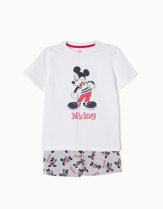 Pijama Manga Curta Mickey Mouse