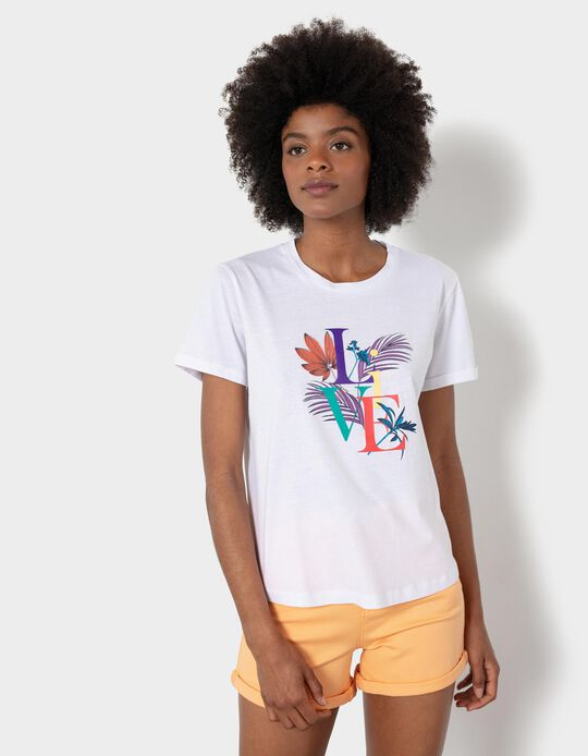 T-shirt with Print, Women