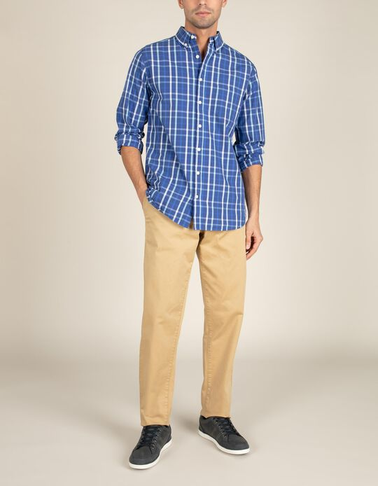 Regular Fit Chequered Shirt