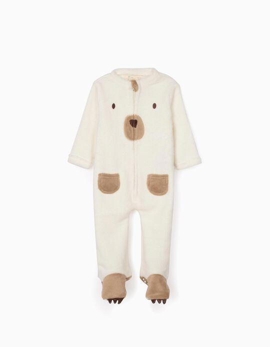 Onesie for Babies 'Bear', White