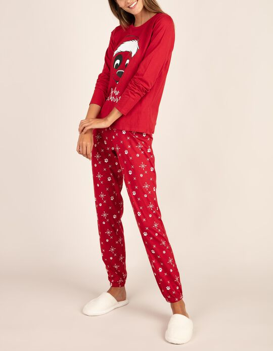 Conjunto de pijama natalício