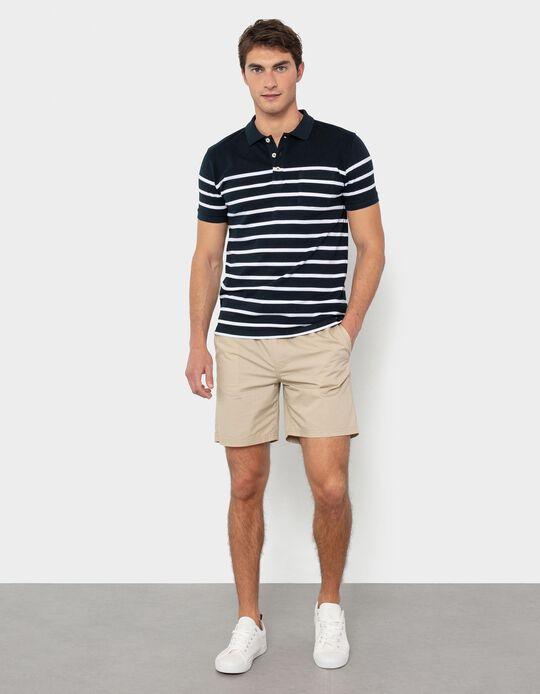 Twill Shorts, Elasticated Waistband