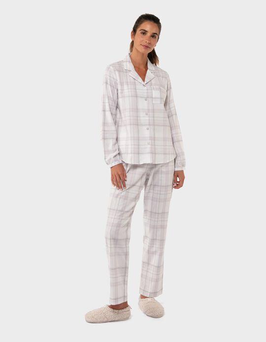 Chequered Cotton Pyjamas