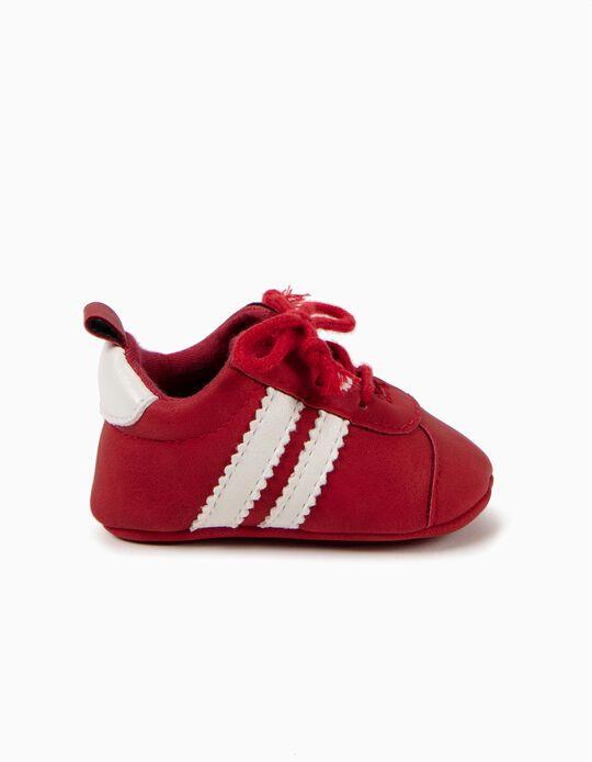 Sapatilhas Pre-Walker Vermelhas