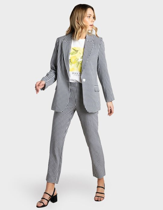 Chequered Blazer, Women