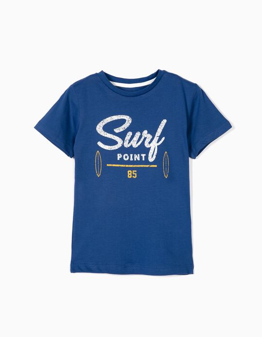 T-shirt for Boys 'Surf Point', Blue