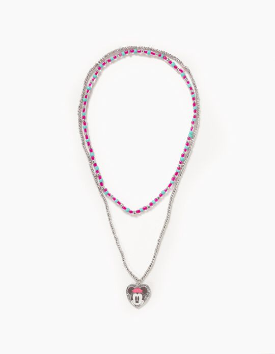 Beads Necklace for Girls 'Minnie', Multicoloured