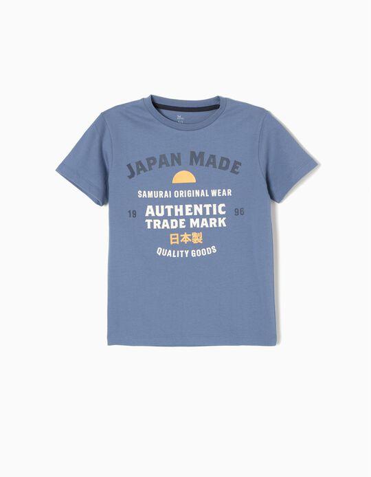 T-shirt Japan Azul