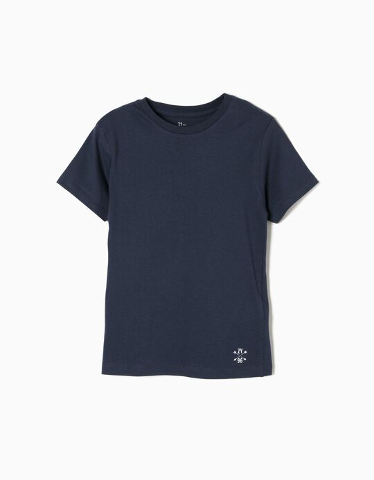 T-shirt for Boys, Dark Blue