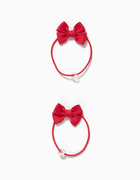 Pack of 2 Elastic Bands, Bow