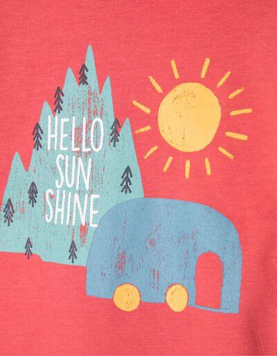 T-shirt Estampada Hello Sunshine