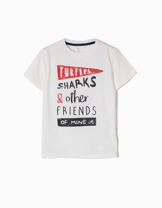 T-shirt More Turtle Sharks