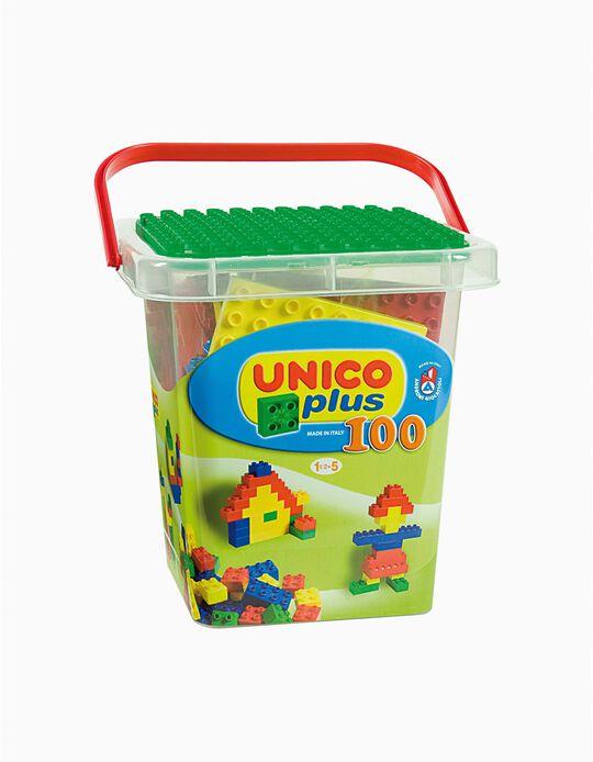 Brinquedo 18M+ Único  100 pçs