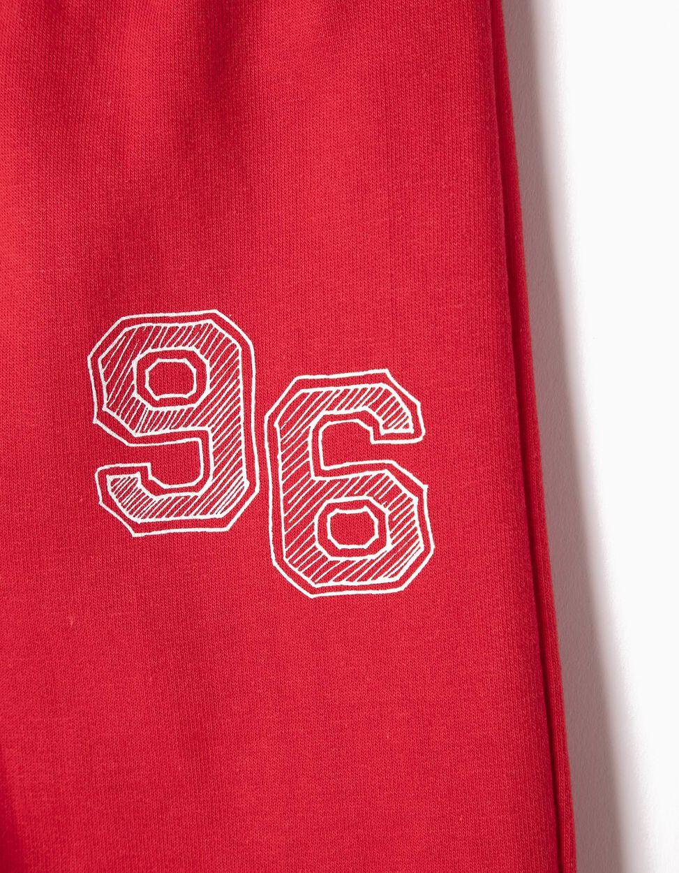Calças de Treino 96 Vermelhas