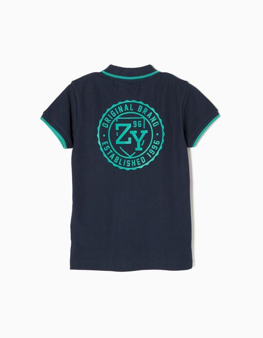 Polo Azul ZY 96