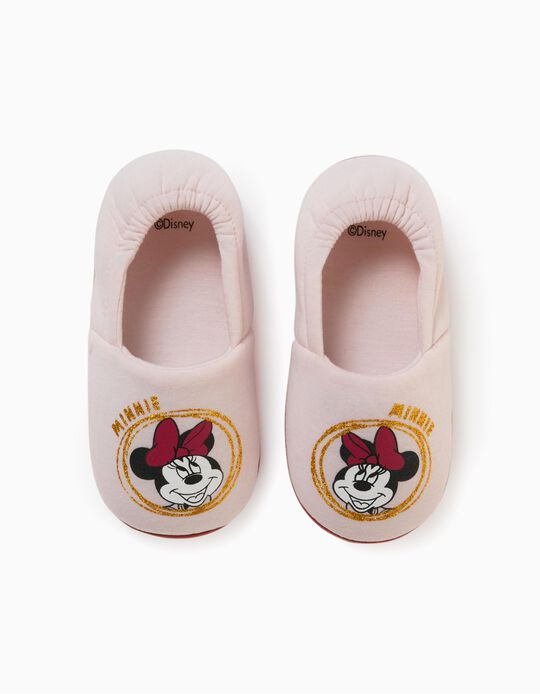 Slippers for Girls, 'Minnie', Pink