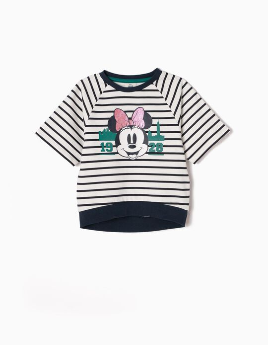 Sweatshirt Manga Curta Minnie NY