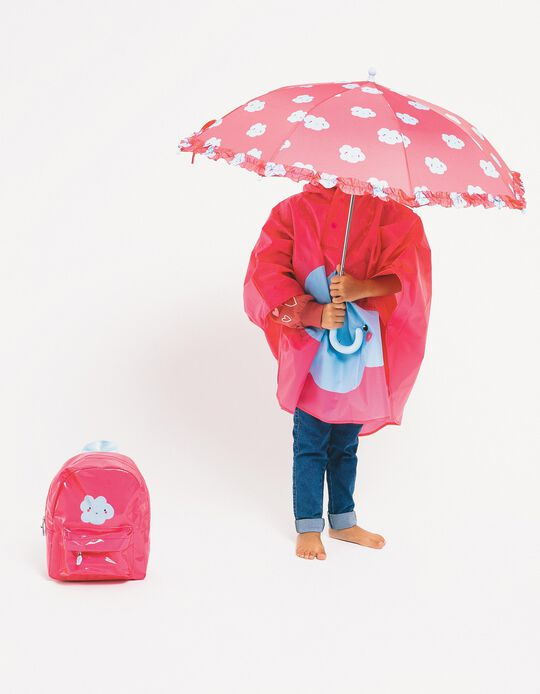 Umbrella for Baby Girls 'Cloud', Pink