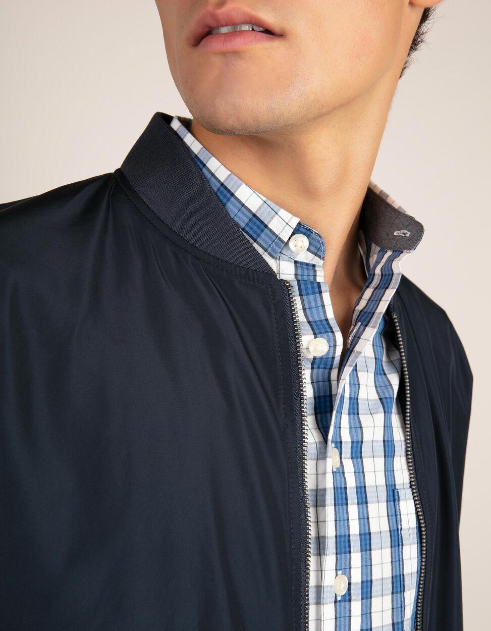 Blusão estilo Bomber kakhi