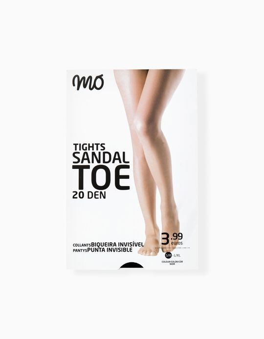 Sandal Toe Tights 20 Den