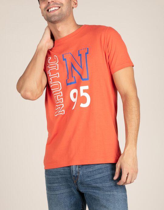 T-shirt laranja