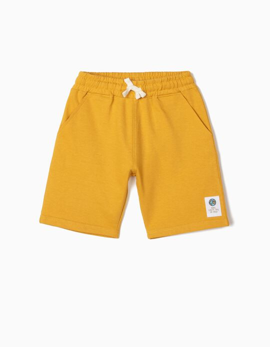 Jogger Shorts in Organic Cotton