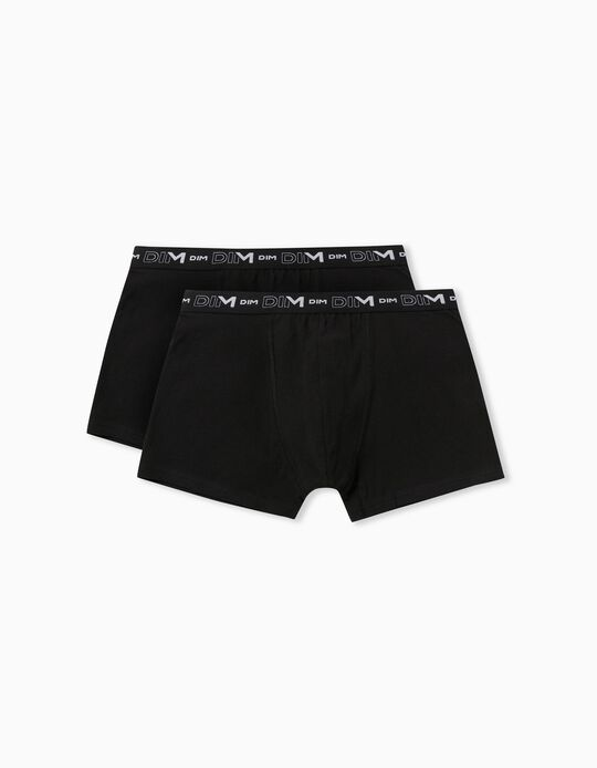 2 Pairs 'DIM Ultra Confort' Boxer Shorts, Men