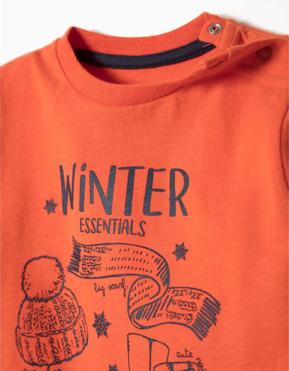 T-shirt Manga Comprida Winter Essentials