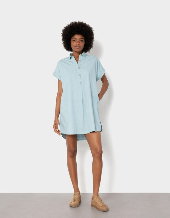 Shirt Dress, Organic Cotton