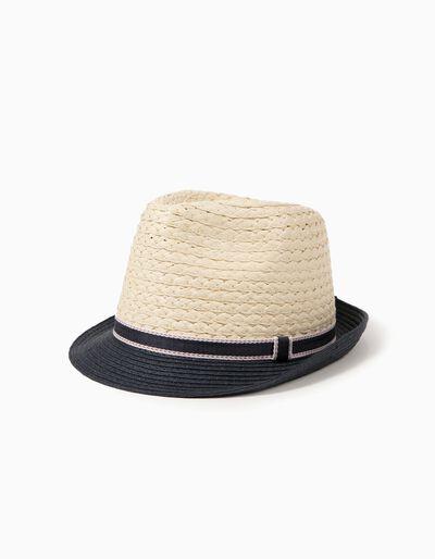 Chapéu Palha Bicolor