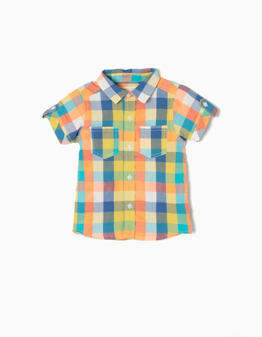 Camisa Oxford Quadrados