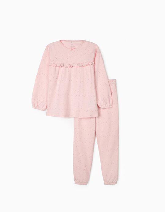Pyjamas for Girls, 'Stars', Pink
