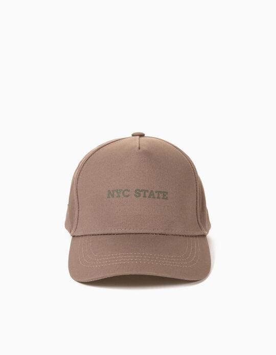 Cap for Men, Brown