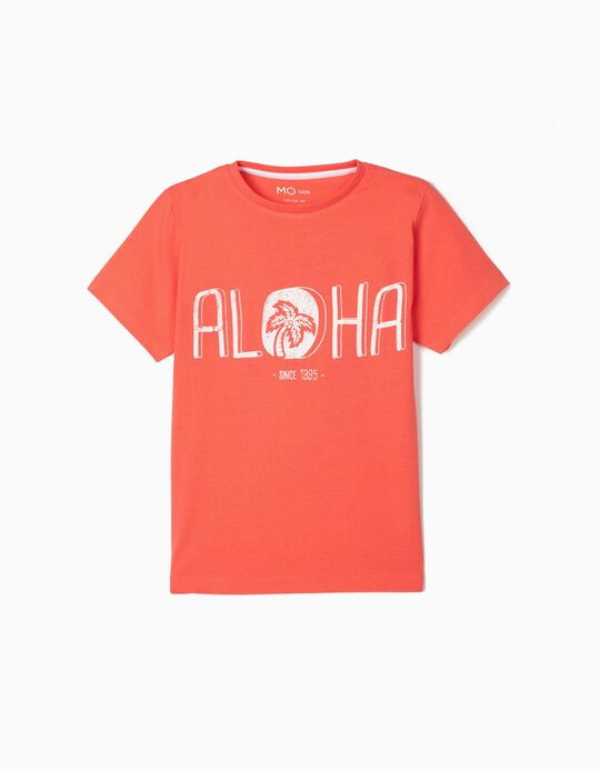 T-shirt for Boys, 'Aloha'