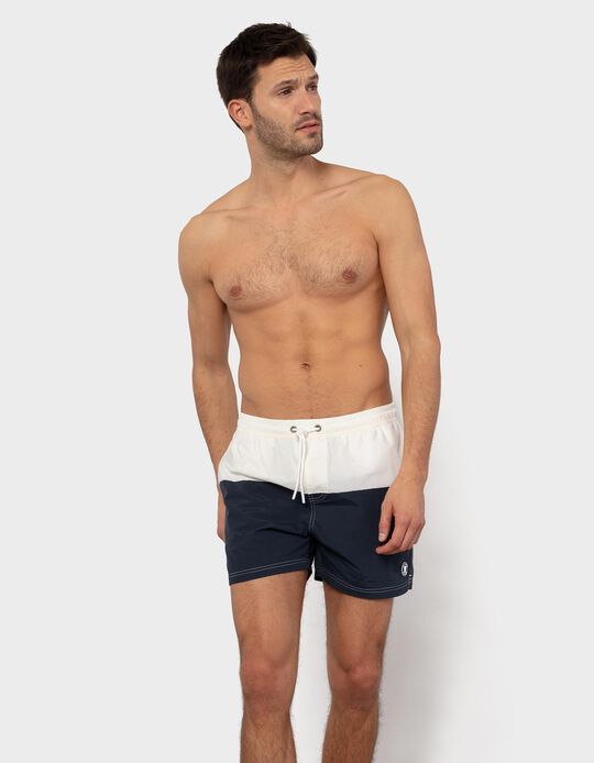 Two-Tone Swim Shorts, for Men
