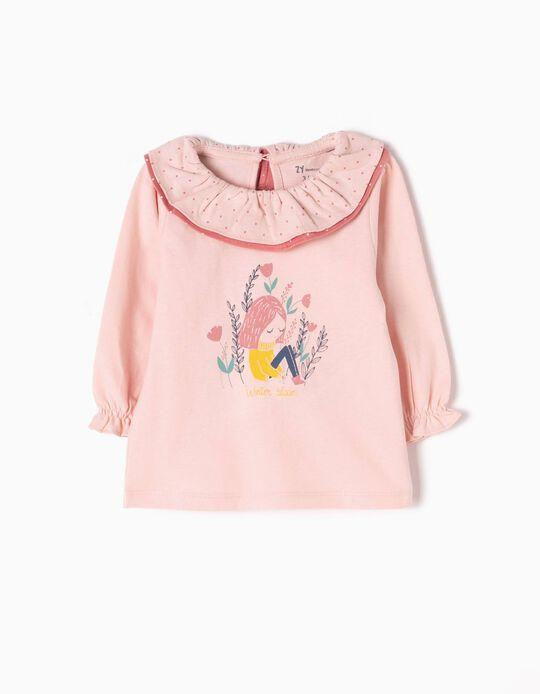 T-shirt Manga Comprida Winter Bloom