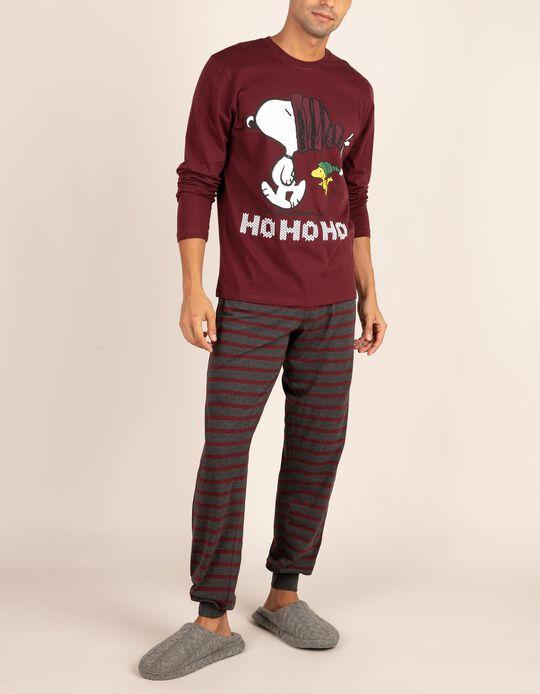 Conjunto de pijama natalício Snoopy