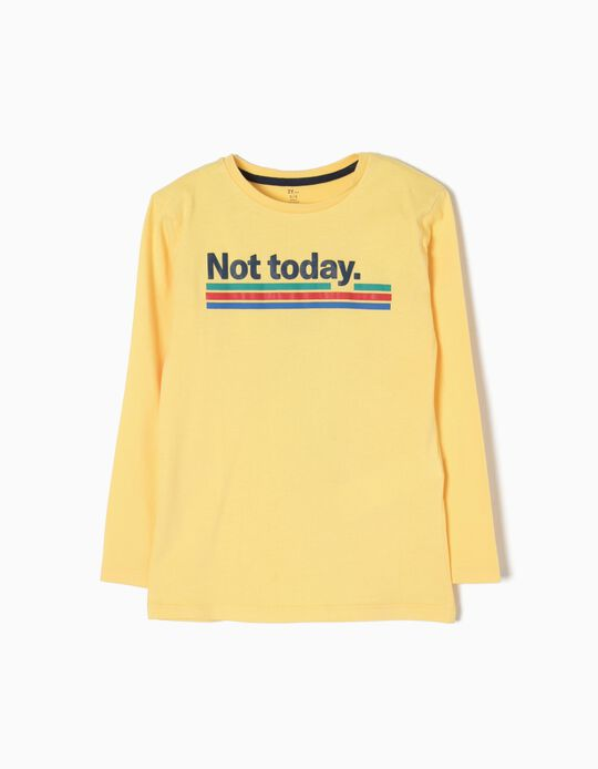 T-shirt Manga Comprida Not Today