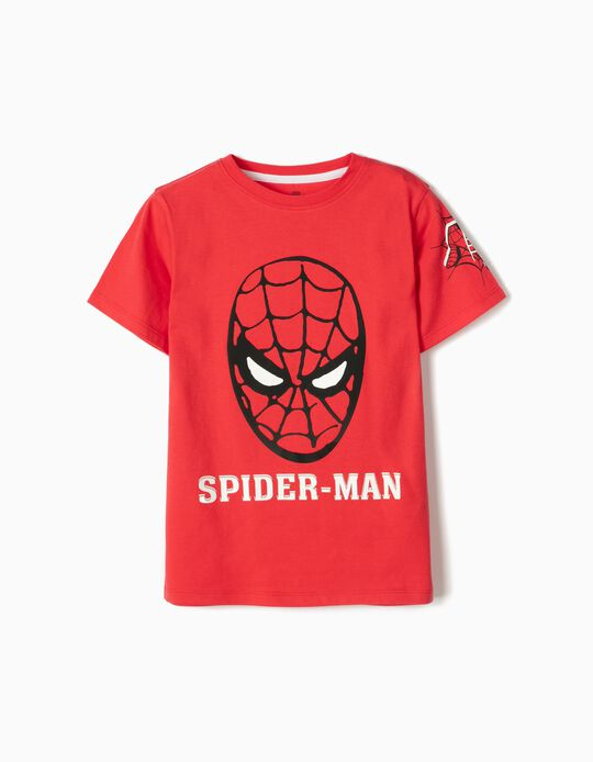T-shirt for Boys, 'Spider-Man', Red