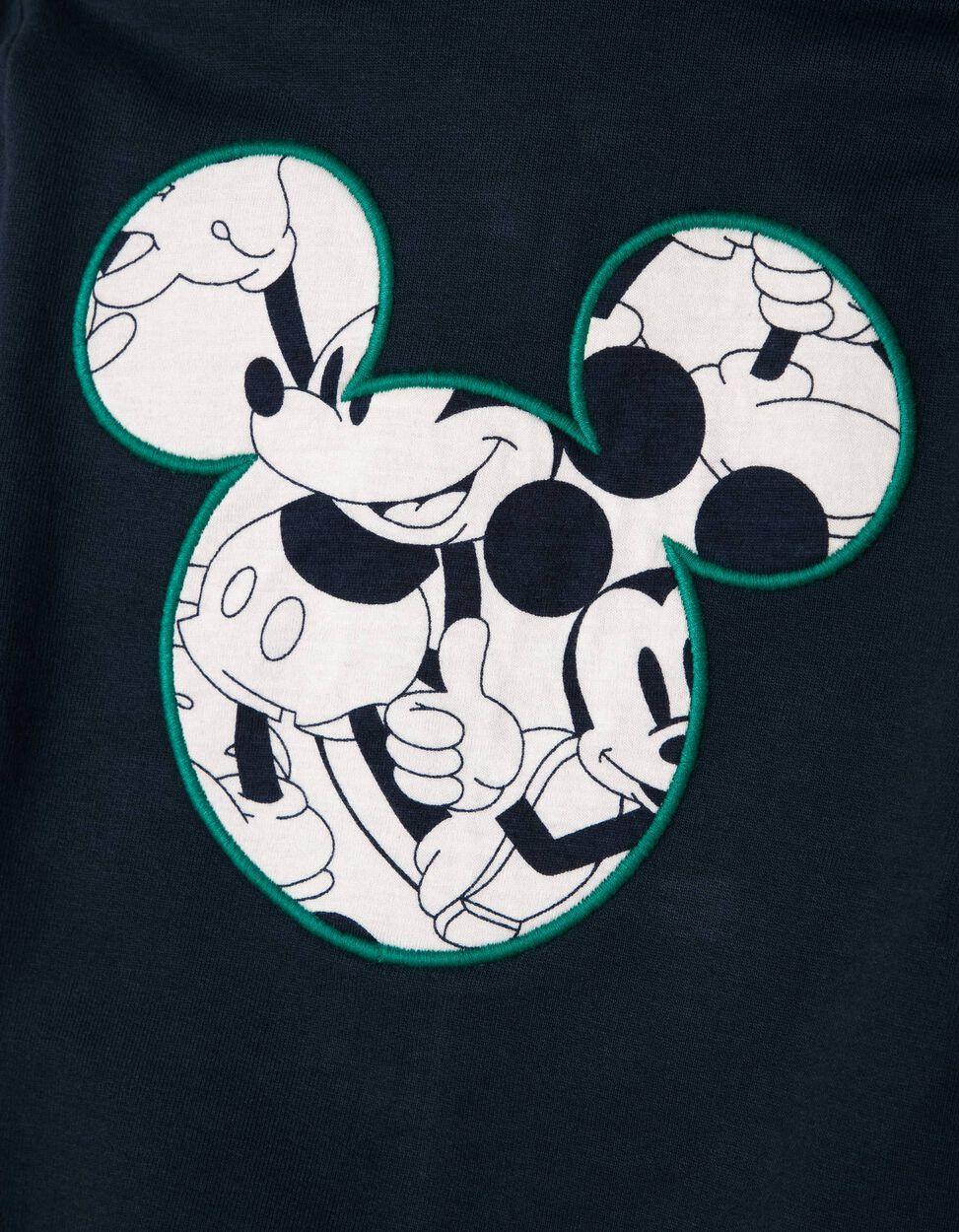 Casaco de Felpa Azul com Capuz Mickey