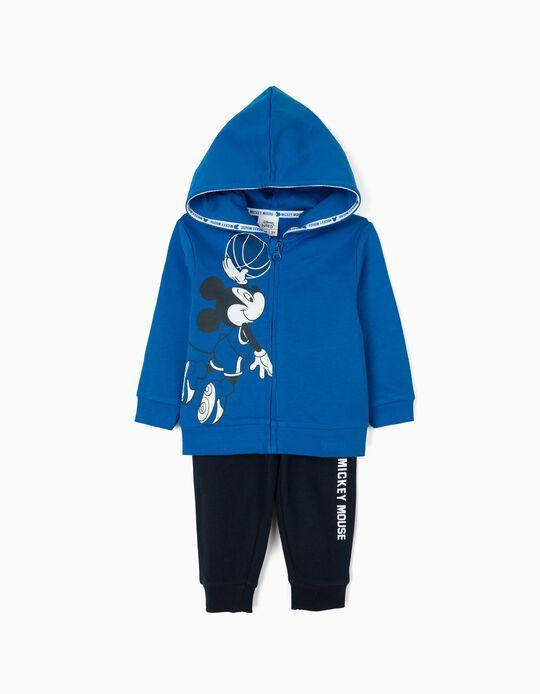 Fato de Treino para Bebé Menino 'Mickey Mouse', Azul