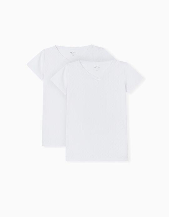 2 Vests for Children, White