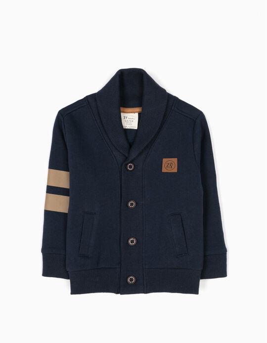 Casaco Jersey Azul
