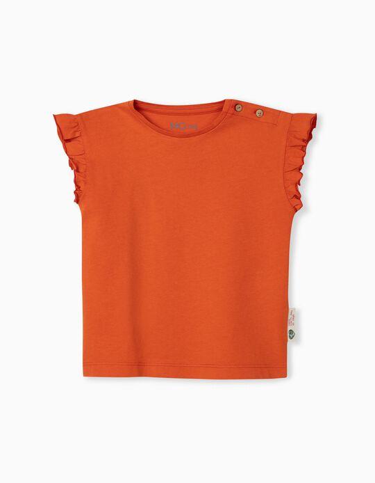 T-shirt in Organic Cotton, Baby Girls