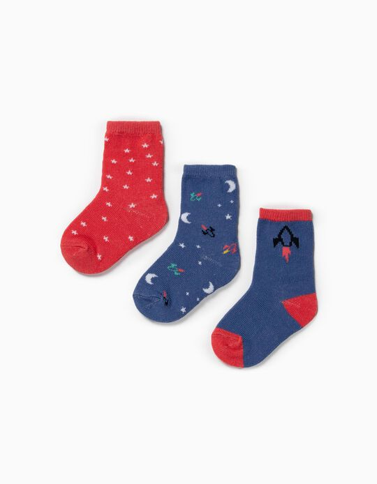 Socks with Stars, pack of 3