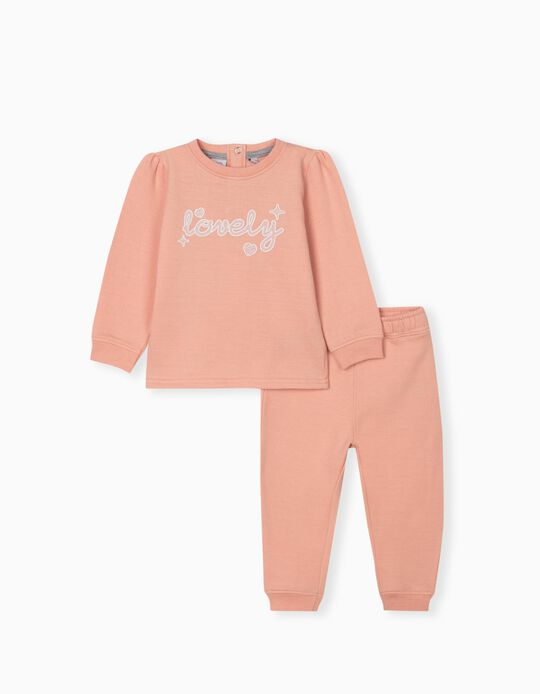 Tracksuit for Babies, Pink