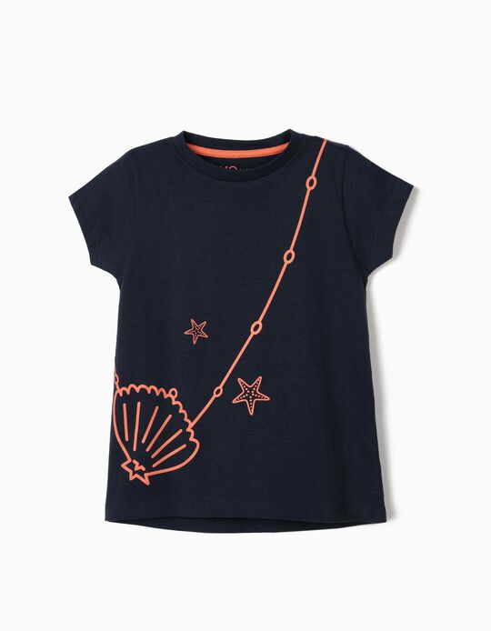 T-shirt with Print, for Girls