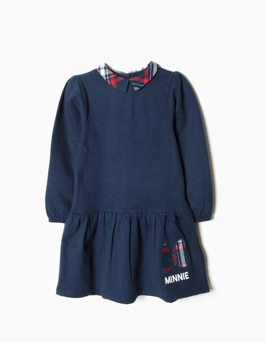 Vestido Minnie Xadrez
